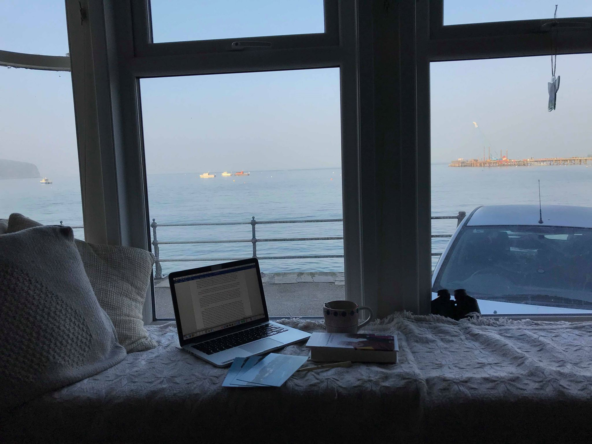 Andrea Wold Johansen Writing Nook Swanage
